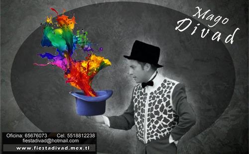 show de magia profesional mago divad (magia,ventriloquia)