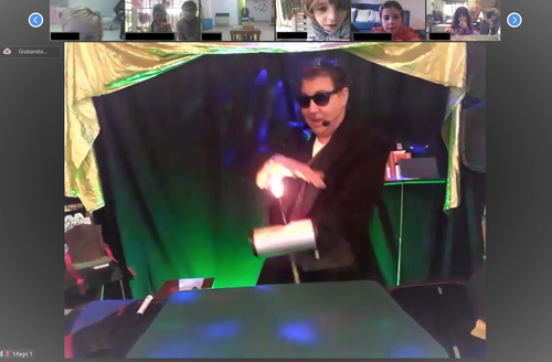 show de magia - zoom - mago - infantil - adultos- zona norte