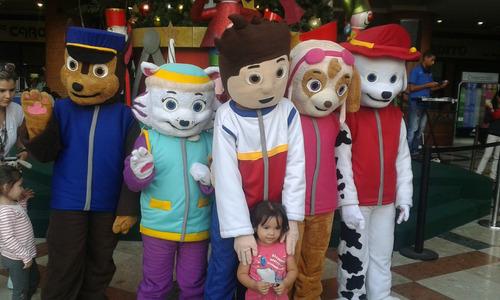 show de paw patrol alquiler muñecote de patrulla canina