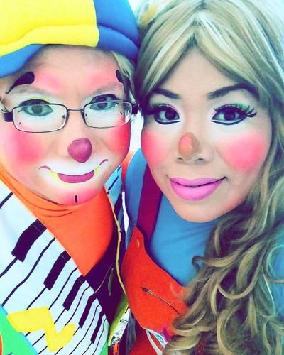 show de payasos  chancletin y deyssi para fiestas infantiles