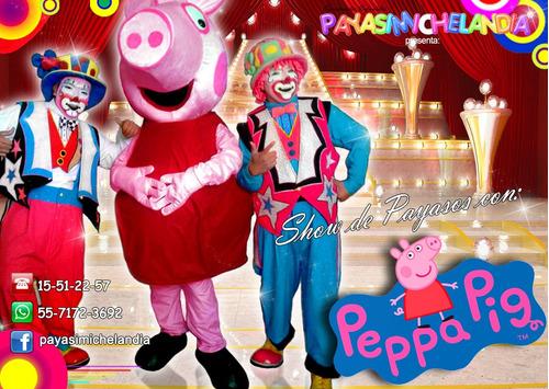 show de payasos y personajes para tu fiesta - cdmx y edomex