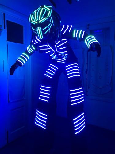 show de robot led