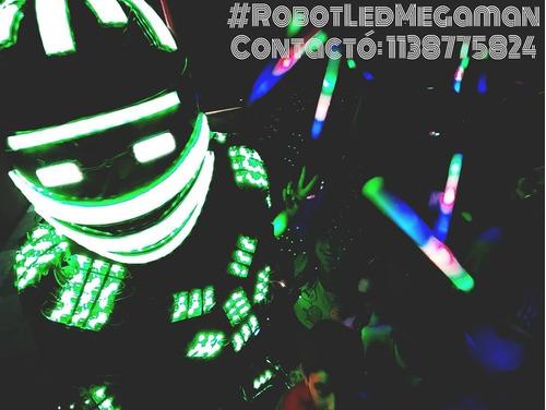 show de robot led+cuadro led+armaslásers+chalecoled-promo!