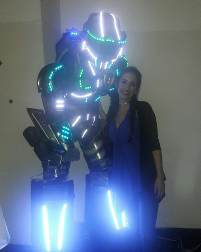 show de robot led hora loca quince años y más personajes vip