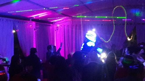 show de robot led para matrimonios graduaciones fiestas etc.