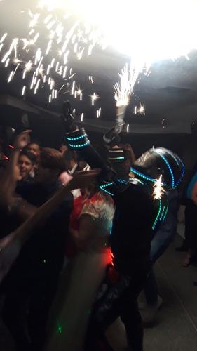 show de robot led para tus fiestas