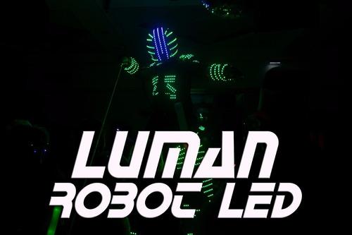show de robot led,el mas completo del mercado