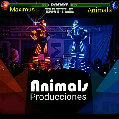 show de robot  led,los mejores de uruguay