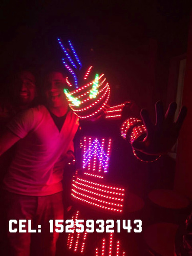 show de robot  para tus fiestas 15, casamientos , infantiles