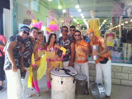 show de samba y bailarinas garotas
