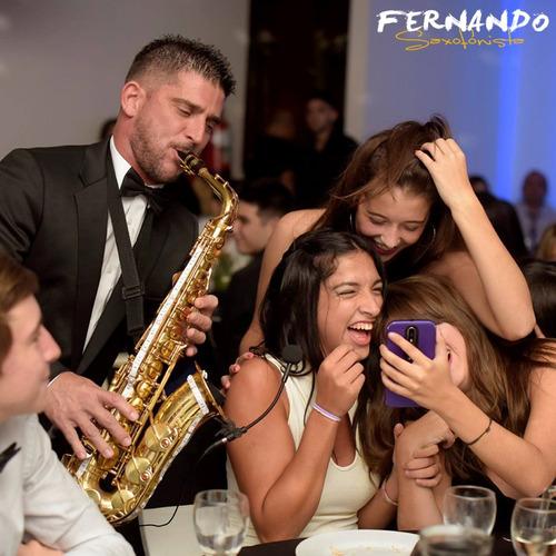 show de saxo - saxofonista para fiestas y eventos.