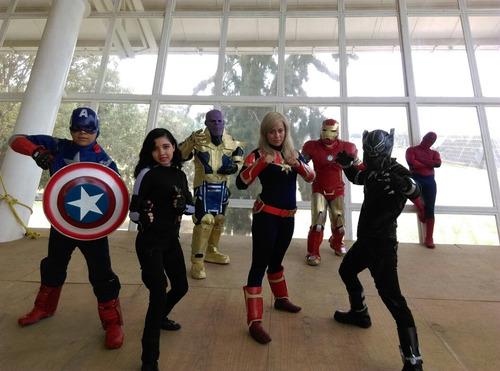 show de spiderman, venom y súper héroes