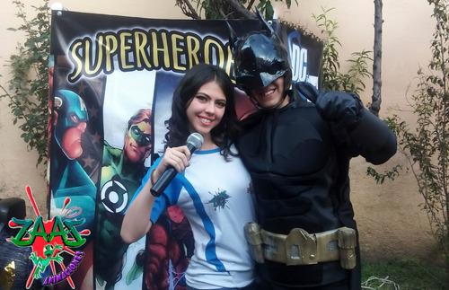 show de superheroes