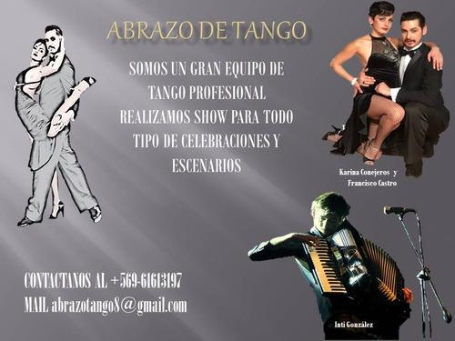 show de tango (abrazo de tango)