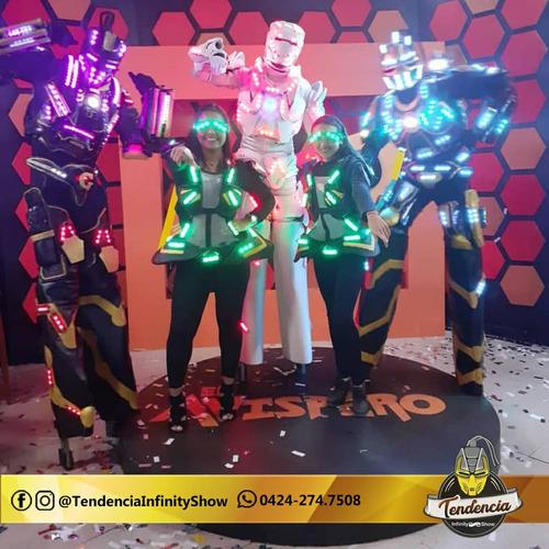 show de tequileros, show de robot led, bailarinas led ...