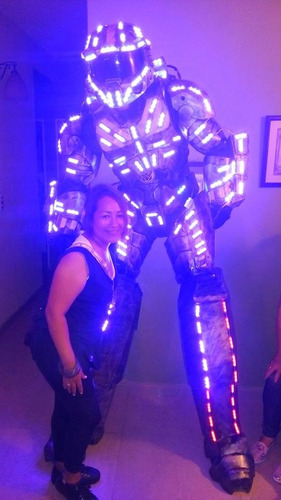 show de transformer led  bombel bee y halo 04140140452