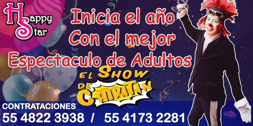 show del payaso chikitin