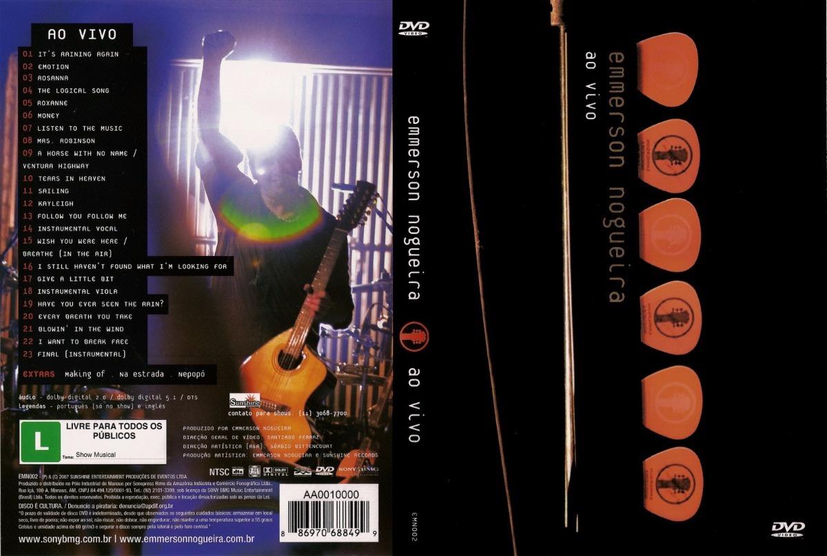 dvd emmerson nogueira