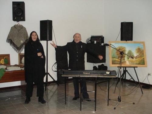 show eventos. cantante