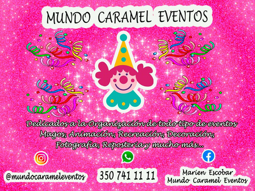 show eventos, fiestas