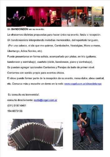 show eventos, tango