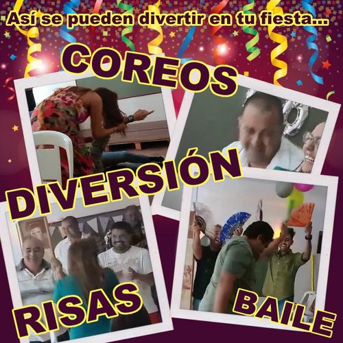 show fiesta animacion juegos baile