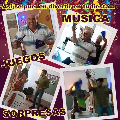 show fiesta animacion juegos coreos baile karaoke dj y mas!