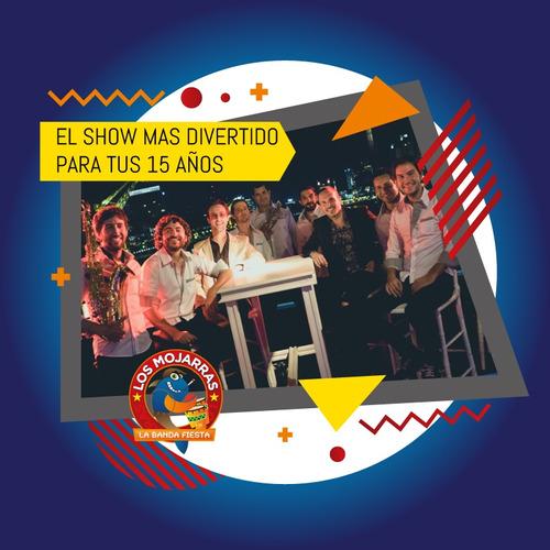 show fiesta banda evento musica covers cumbia rock cuarteto