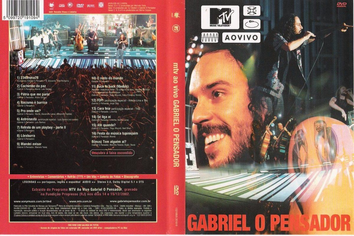 dvd show gabriel pensador