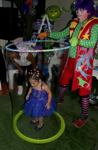show infantil burbujas gigantes s/80.00 - temático-filmación