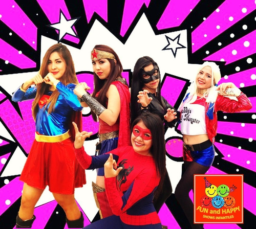 show infantil de heroínas y villanas!! show en cdmx y edomex