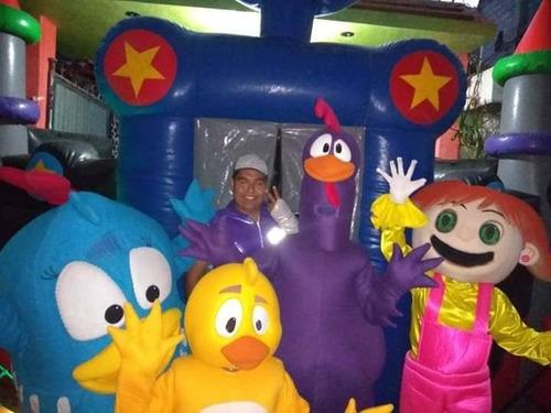 show infantil de la gallina pintadita