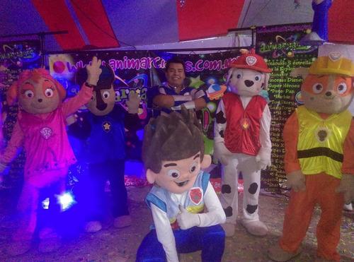 show infantil de paw patrol de actopan
