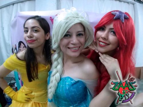 show infantil de princesas