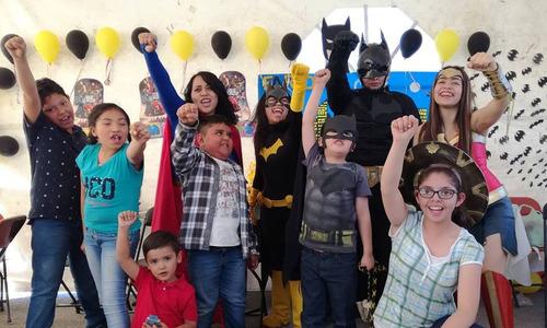 show infantil de superhéroes