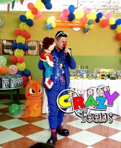 show infantil en lima
