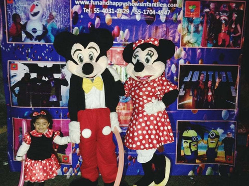 show infantil mickey y minnie