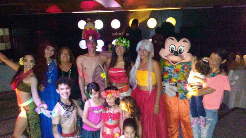 show infantil  moana, animación, recreación, pintacaritas