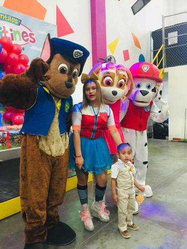 show infantil saltillo persoanjes de moda pintacaritas lonas