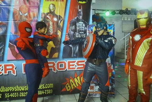 show infantil superheroes