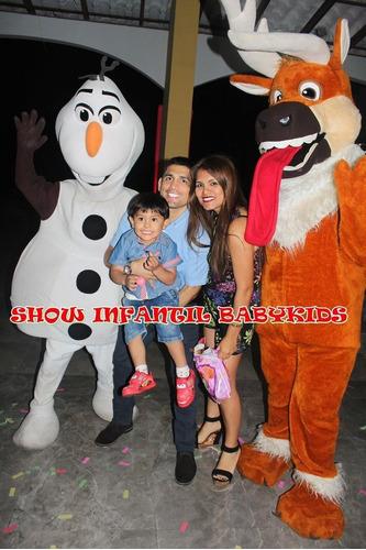 show infantil temático, shows infantiles, visita magica