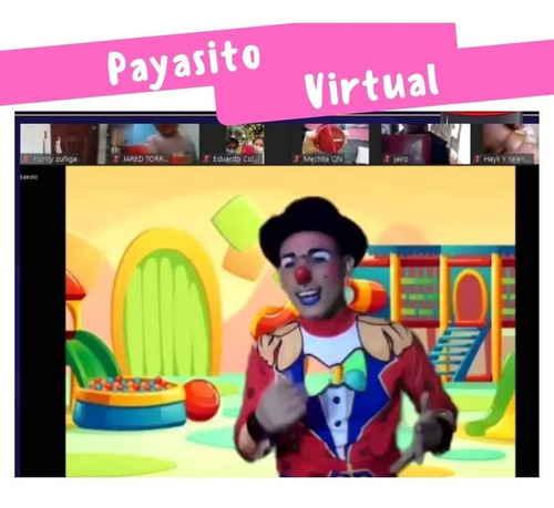 show infantil virtual desde s/69.90  baby shower desde s/89