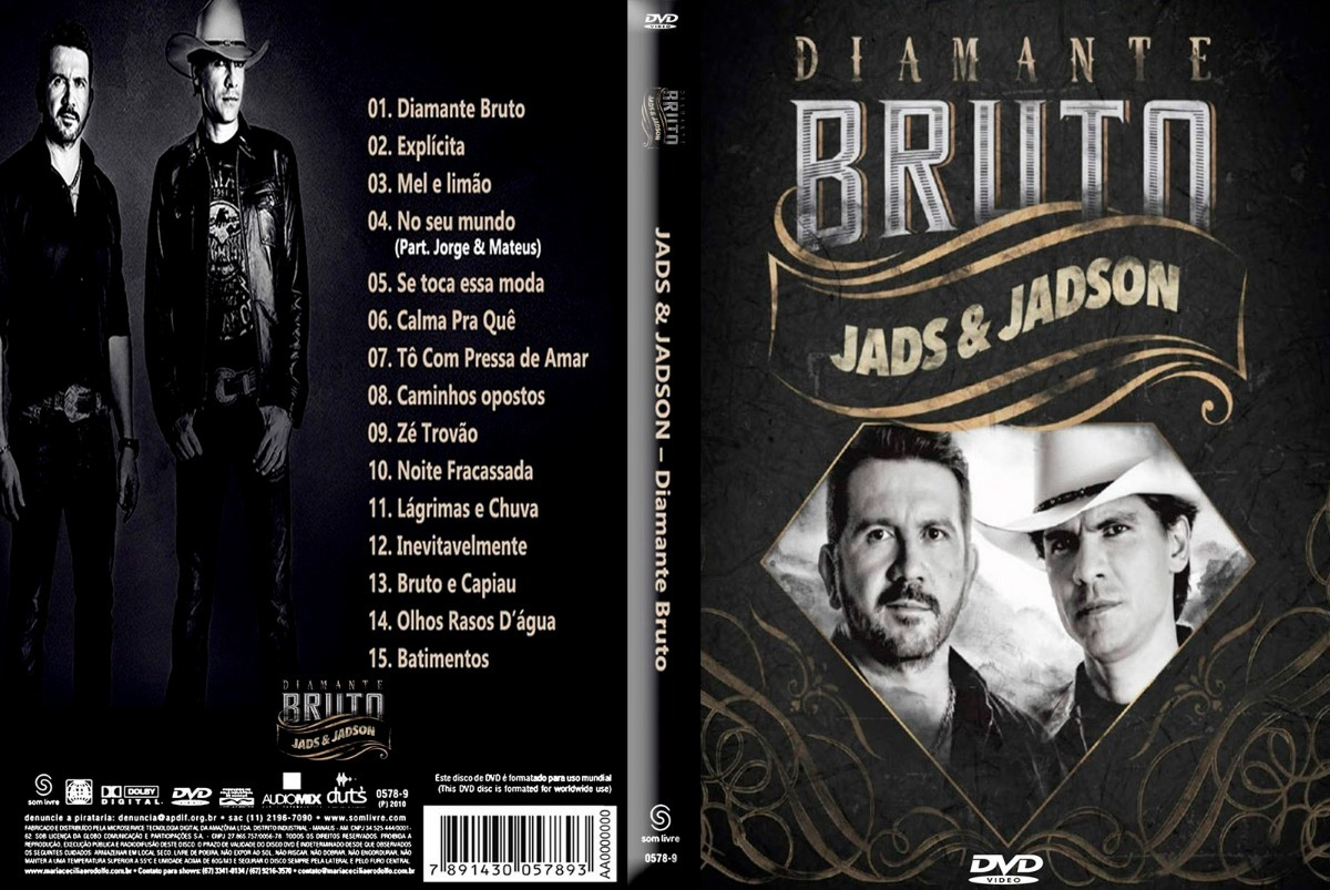 dvd jads e jadson 2010