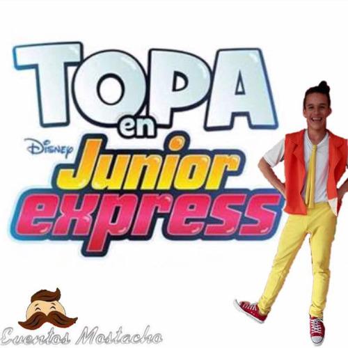 show  junior express, animación, recreación, atracciones.