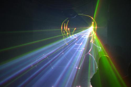 show laser - pantalla de agua - robot led - pista led