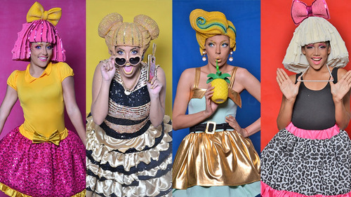 show lol surprise, mickey minnie , elena, club 57, unicornio