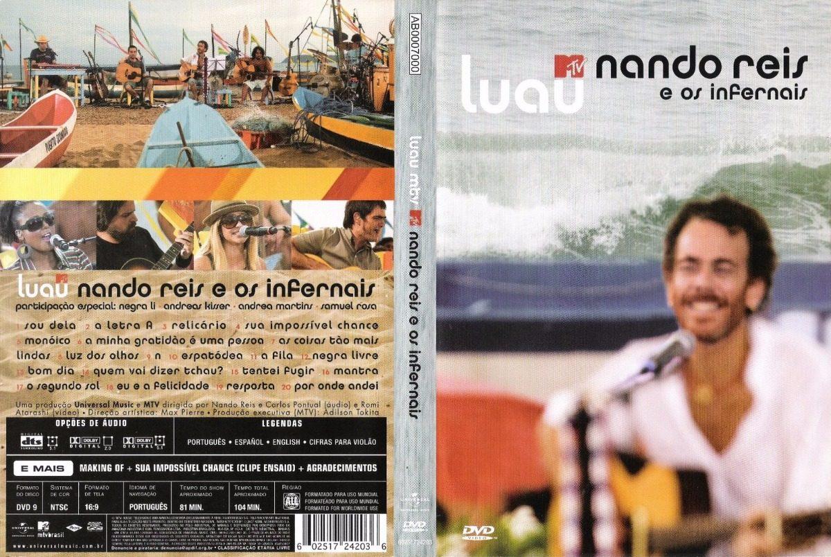 cd nando reis luau mtv 2010