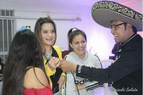 show mariachi solista 140 soles