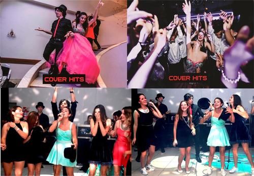 show musical banda de cover en vivo-cumbia-animacion fiesta