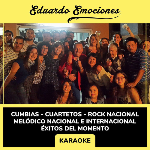 show musical cumbia / tropical / rock / melódico / karaoke
